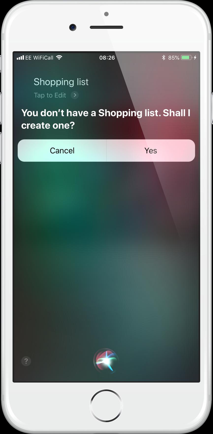 Create Shopping List