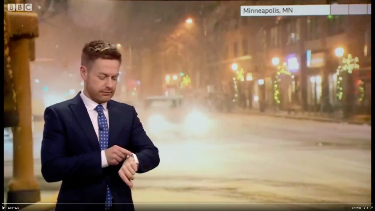 Siri Corrects BBC Weather Presenter Live on Air