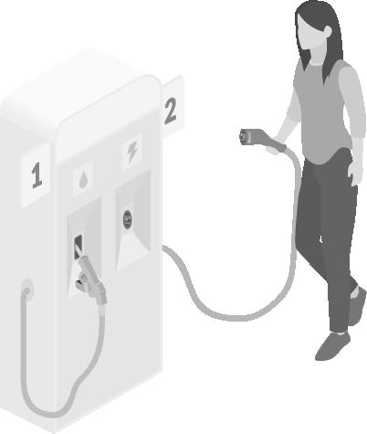 Image of a filling station