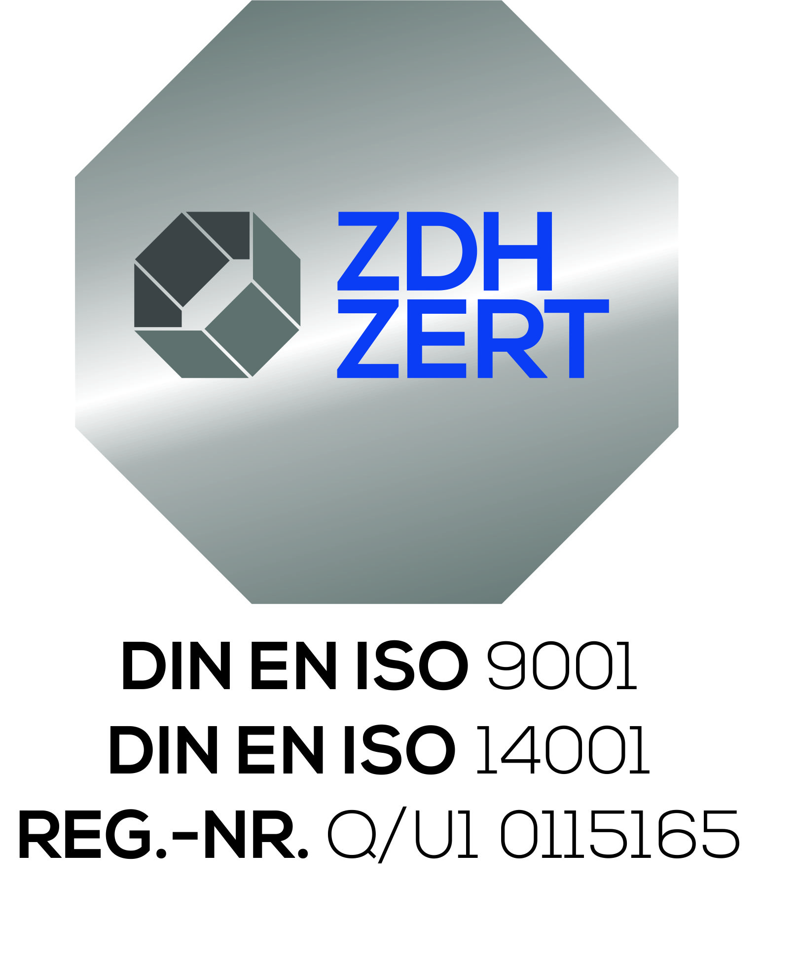 Logo DIN ISO Zertifizierungen