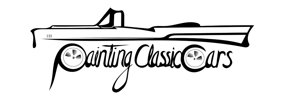 painting classic cars logo