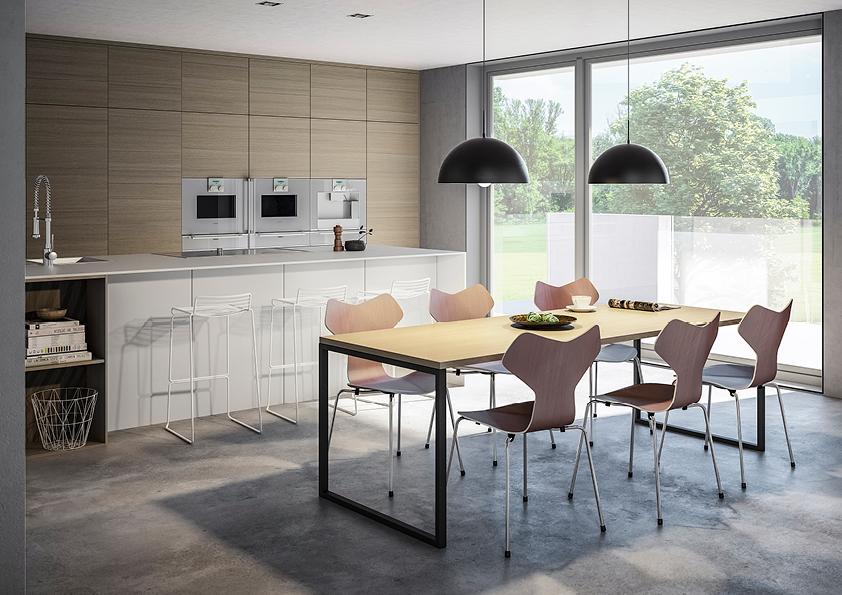 Bilde: Hus 01 modellen kjøkken