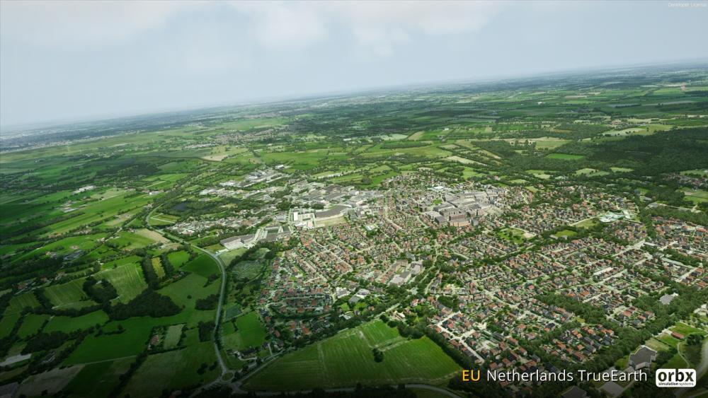 Preview: Orbx TrueEarth Netherlands   Threshold