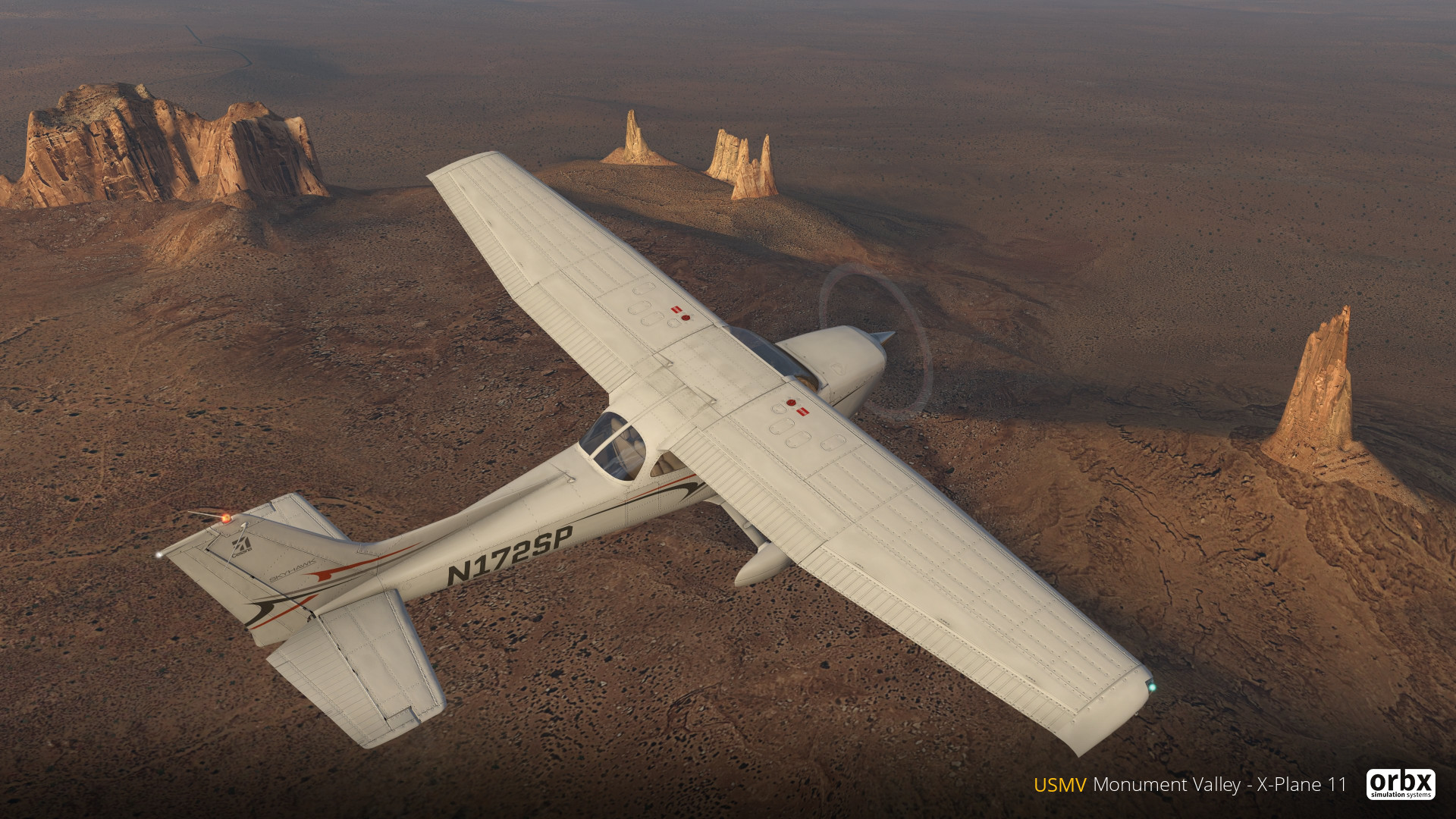 Preview: Orbx Monument Valley for XP11 | Threshold