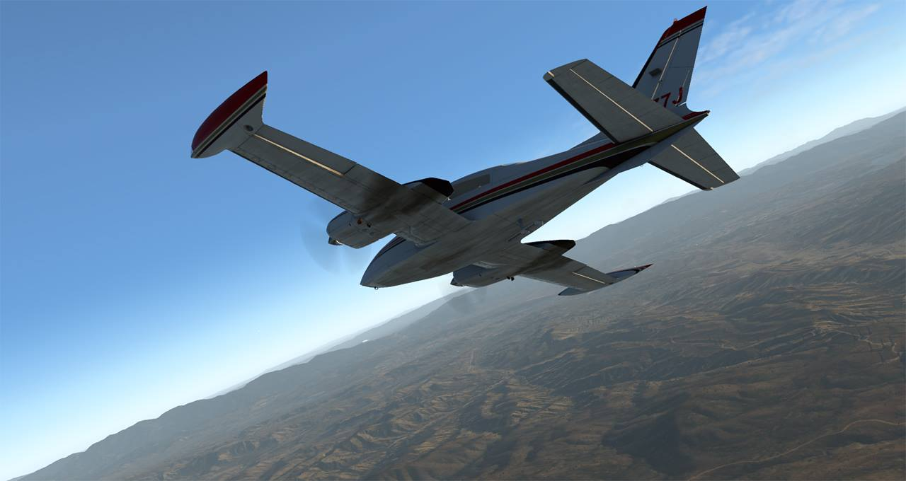 Milviz release T310R for X-Plane | Threshold
