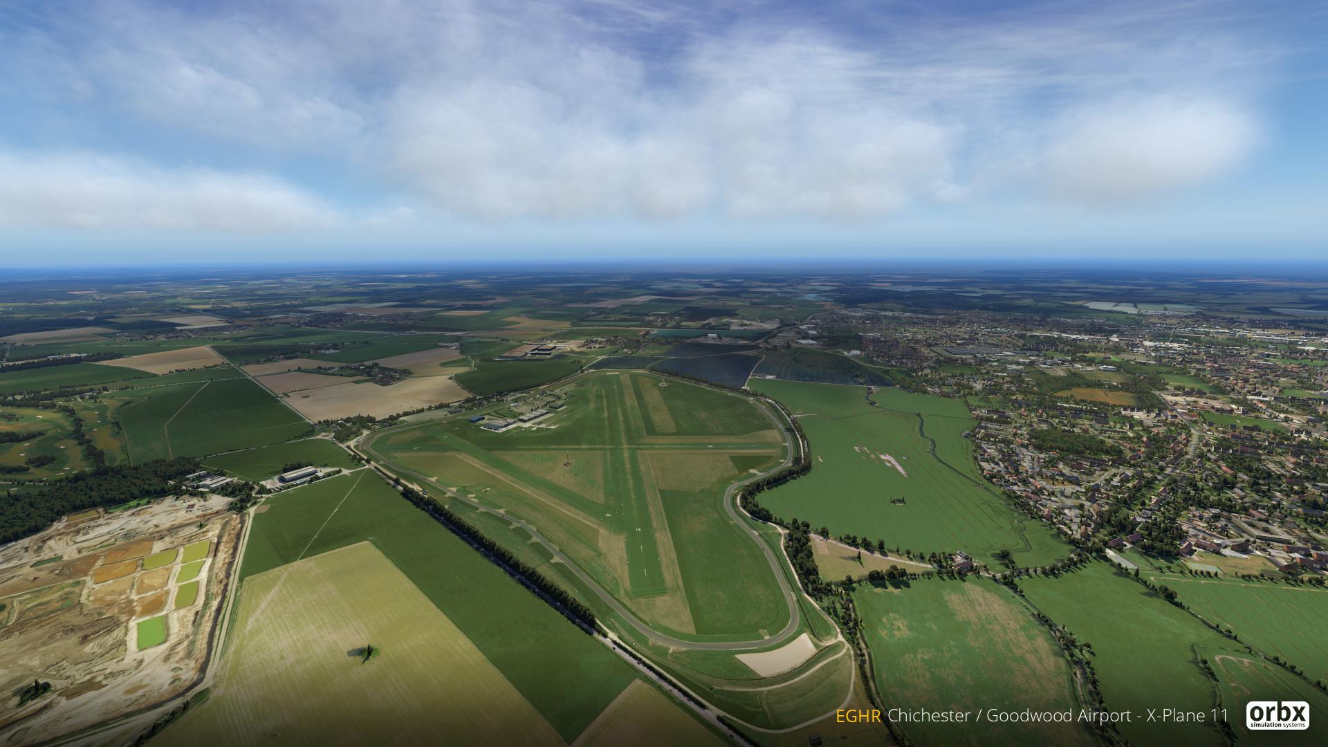 Orbx's Next UK Airport: Goodwood (EGHR) | Threshold