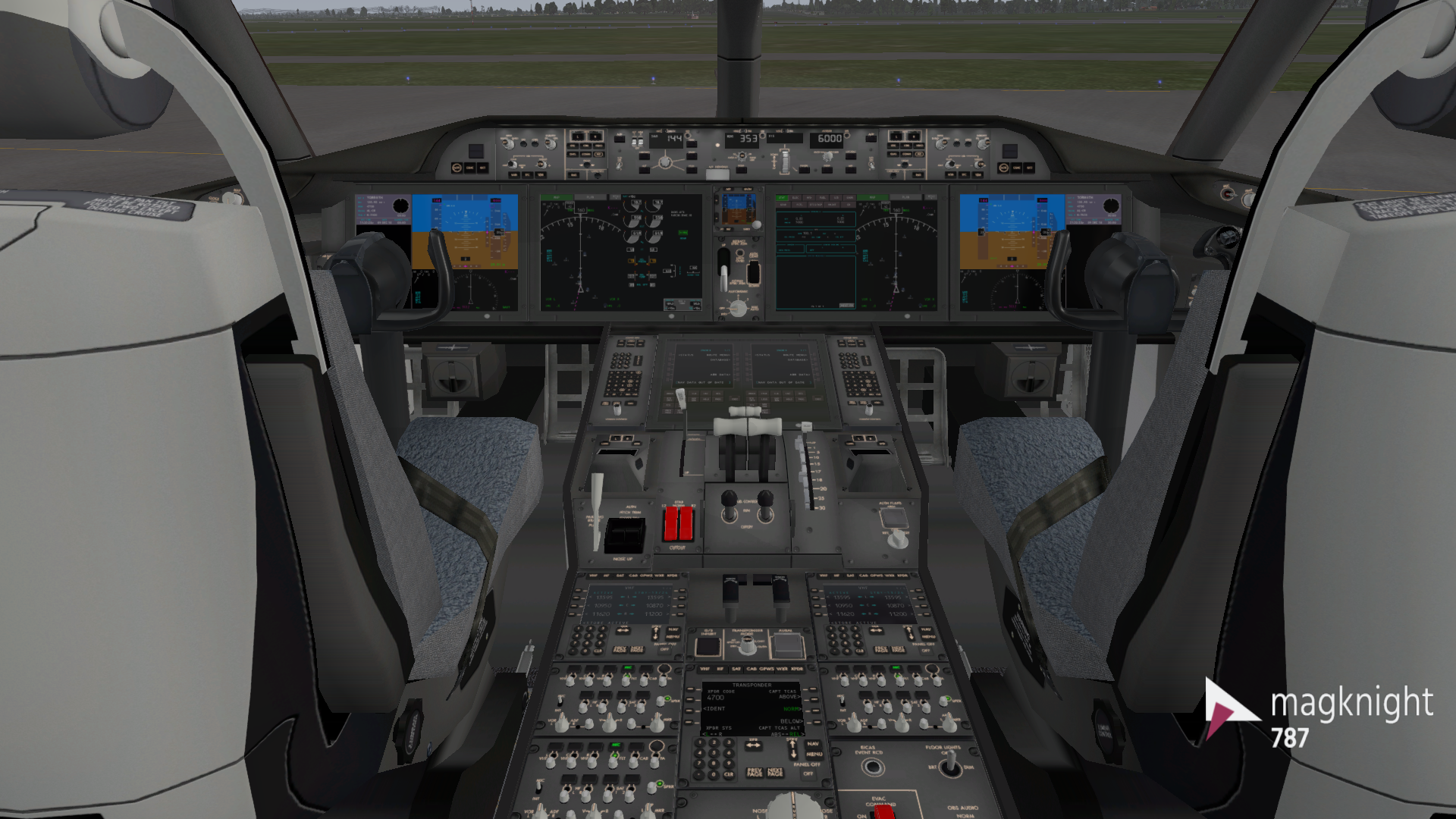 EDITED] Magknight's 787-9 unveils massive update