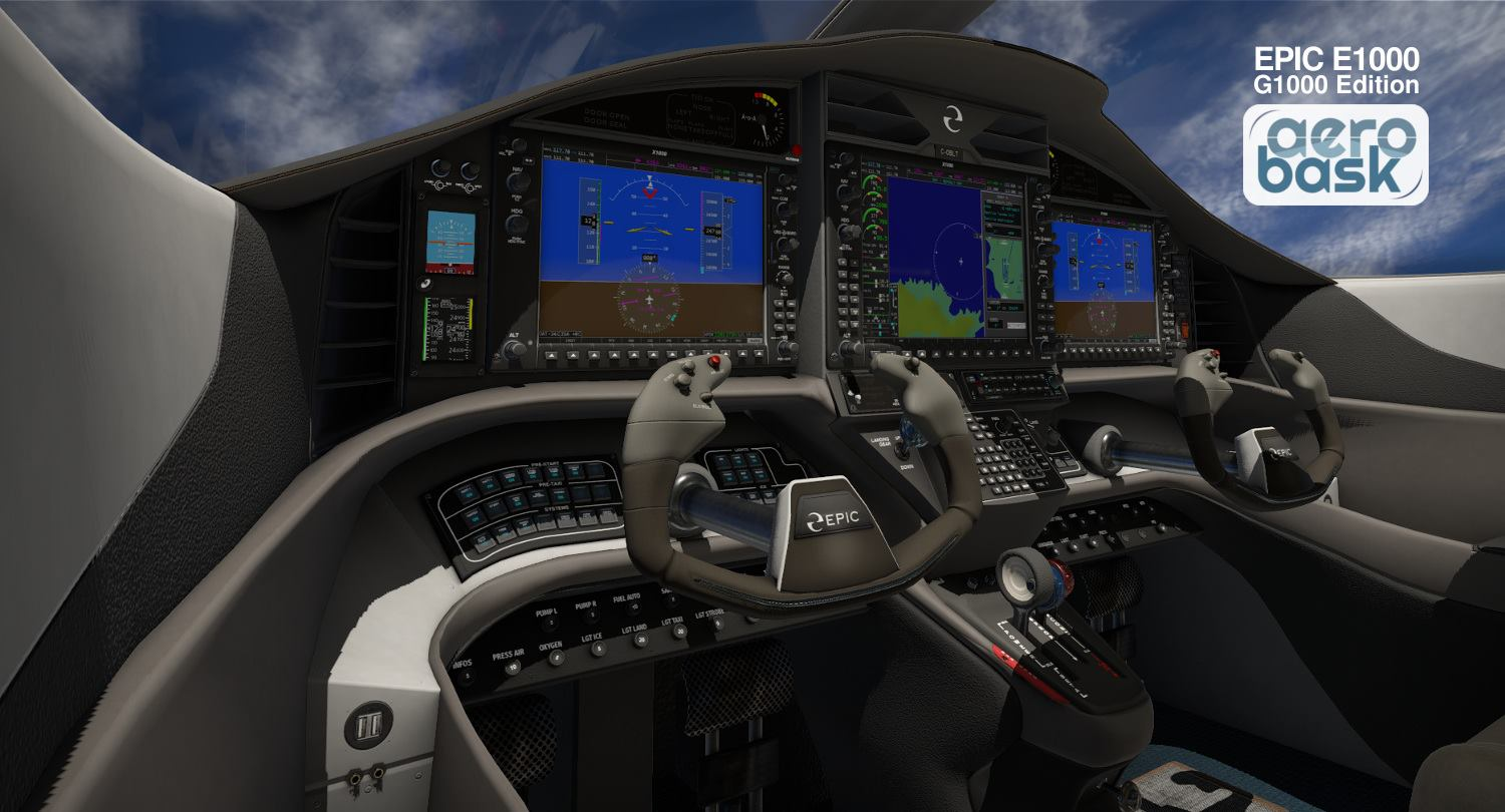 Aerobask announce Epic E1000 with G1000 | Threshold