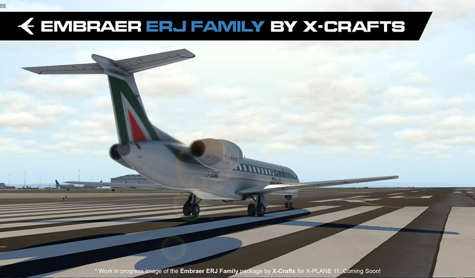 X-Crafts Previews ERJ Liveries | Threshold