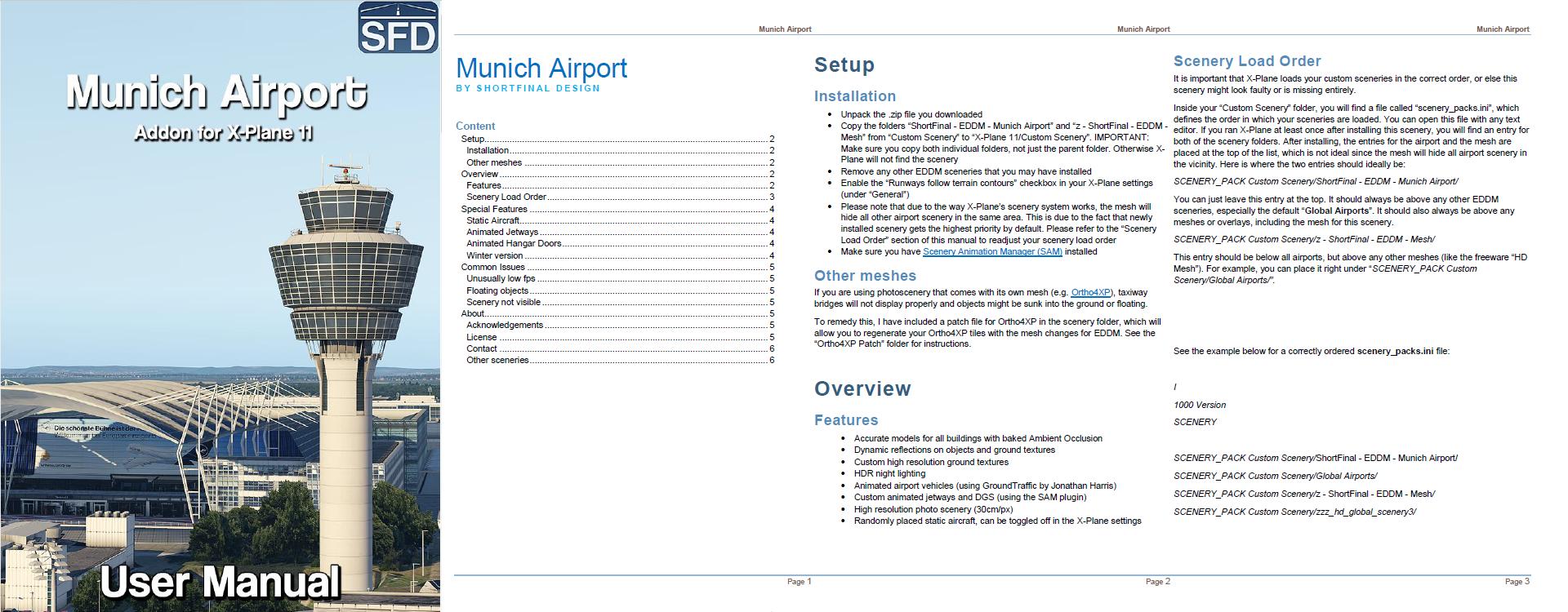 Threshold Exclusive: ShortFinal Design Munich (EDDM) Pre