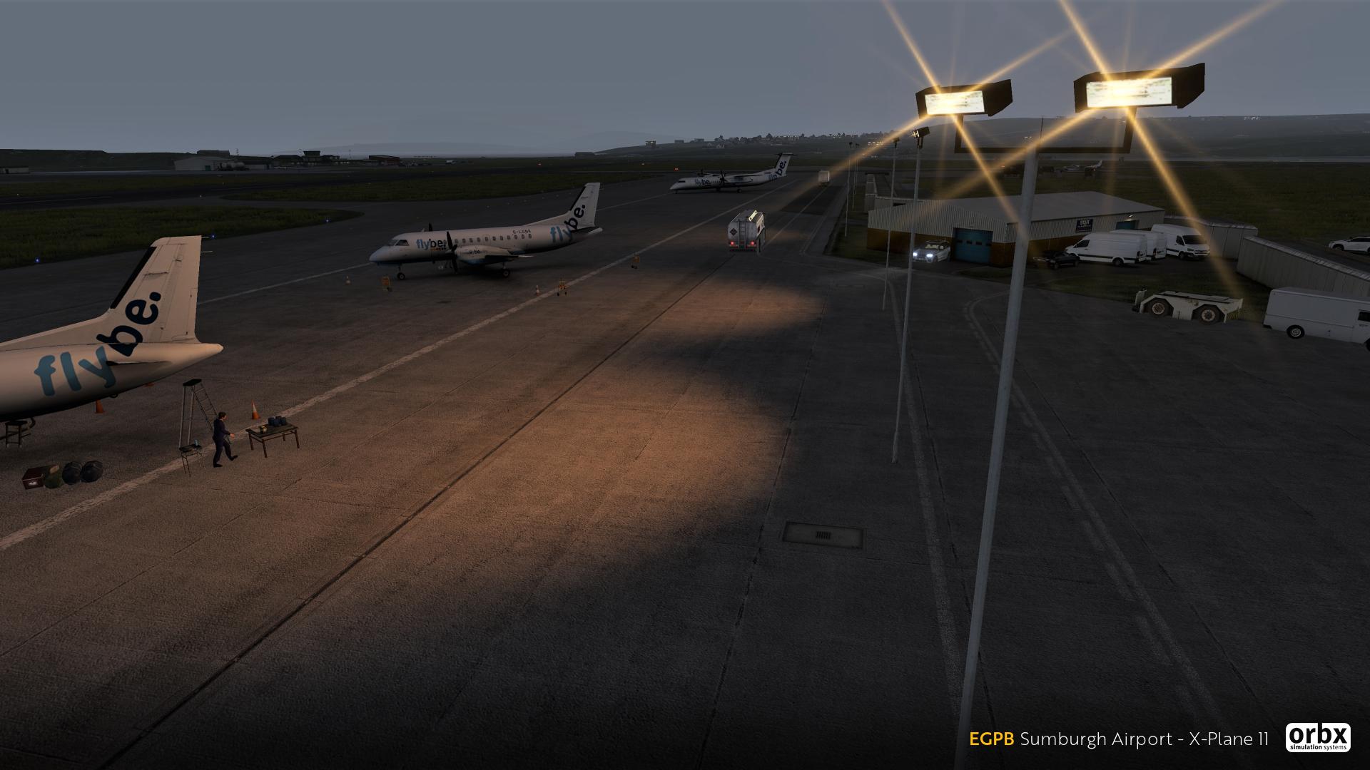 Orbx Sumburgh (EGPB) Coming to X-Plane 11   Threshold