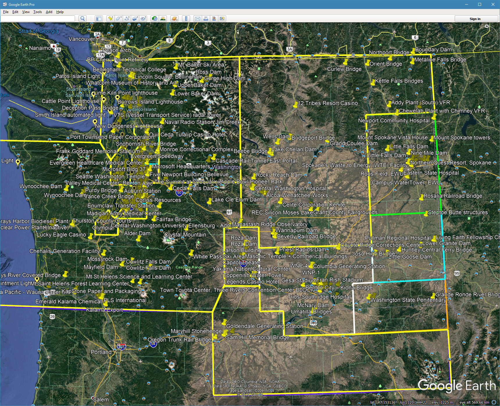 Points of Interest Map for TrueEarth Washington Now Available