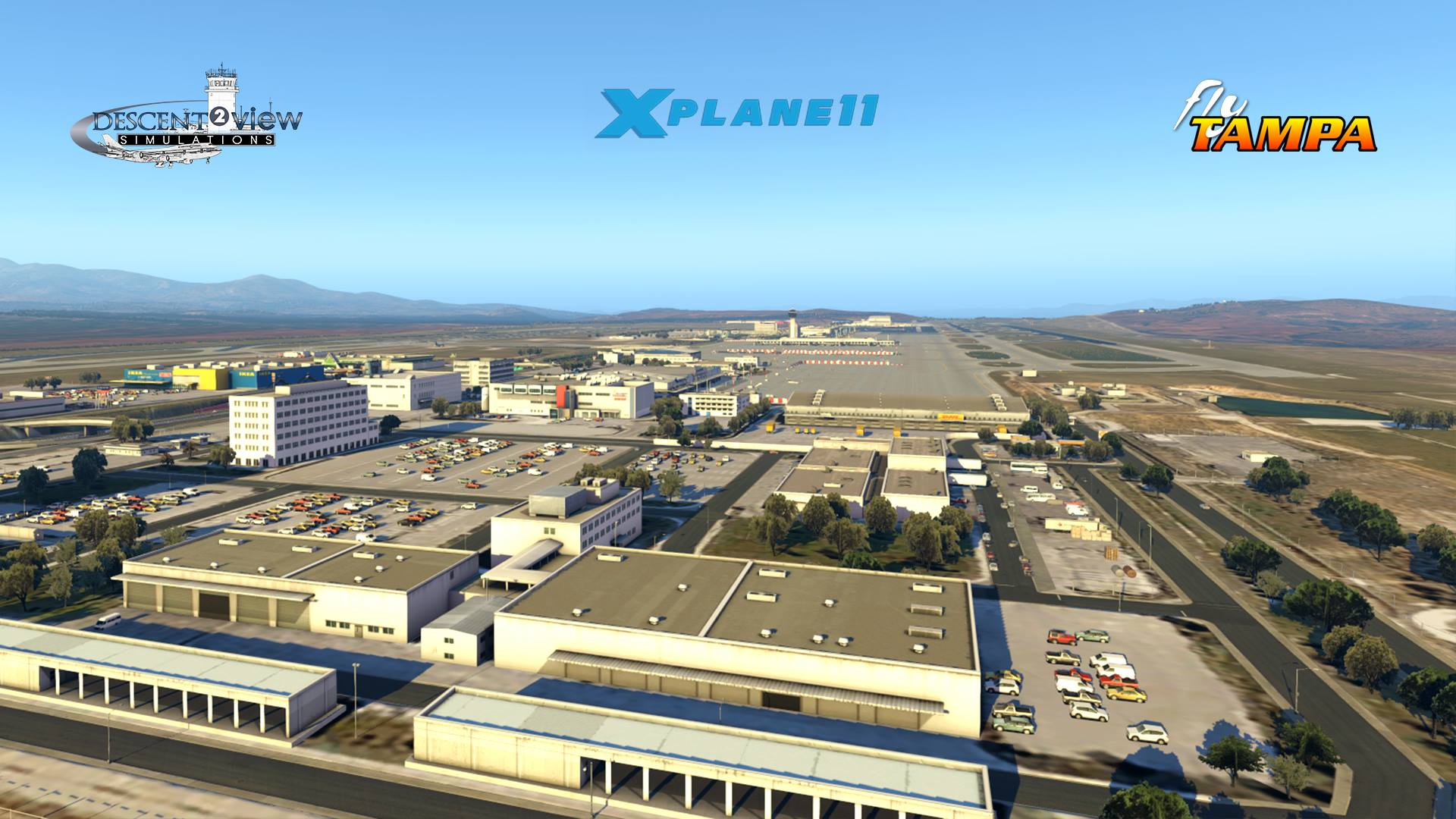 FlyTampa Athens (LGAV) Coming to X-Plane 11 | Threshold