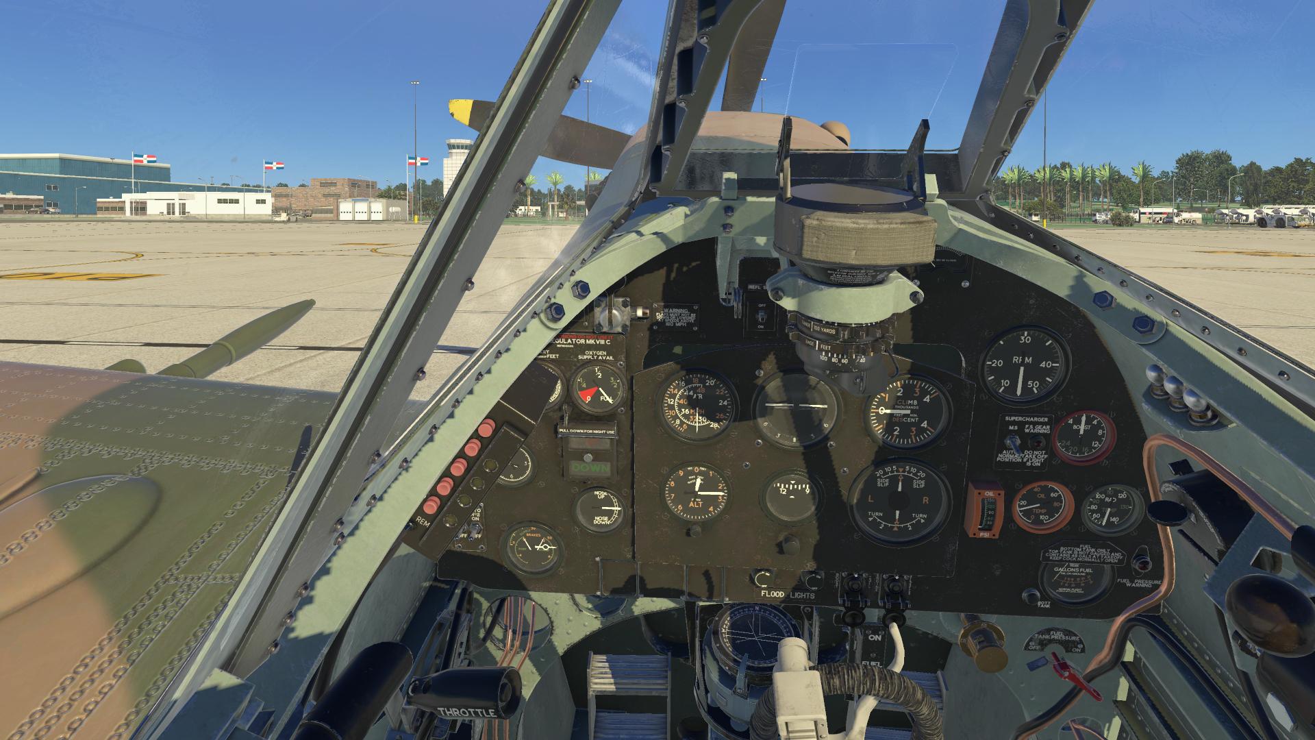 Threshold Review: FlyingIron Simulations Spitfire LF Mk IX