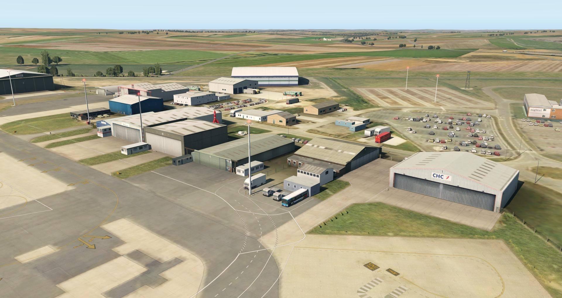 UK2000 Releases Humberside Xtreme (EGNJ) for X-Plane 11   Threshold