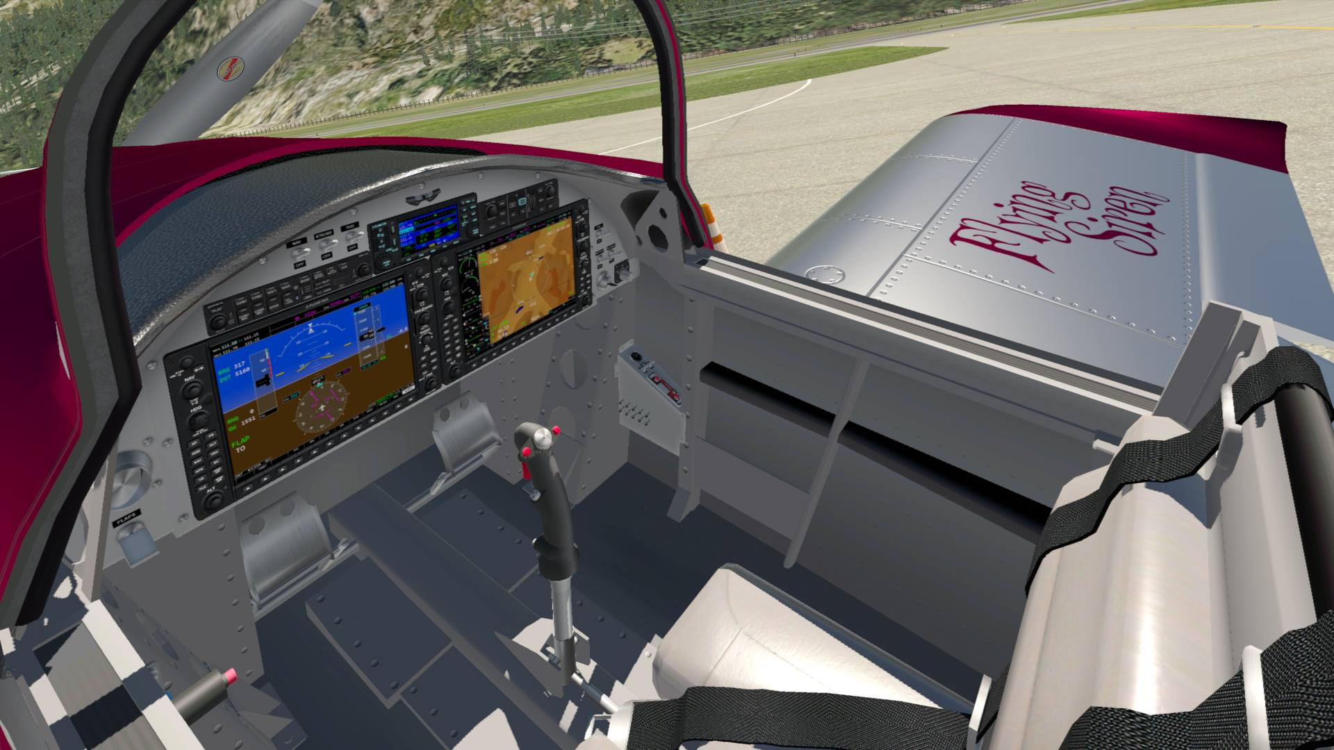 AOA Simulations RV-8 Progress Update | Threshold