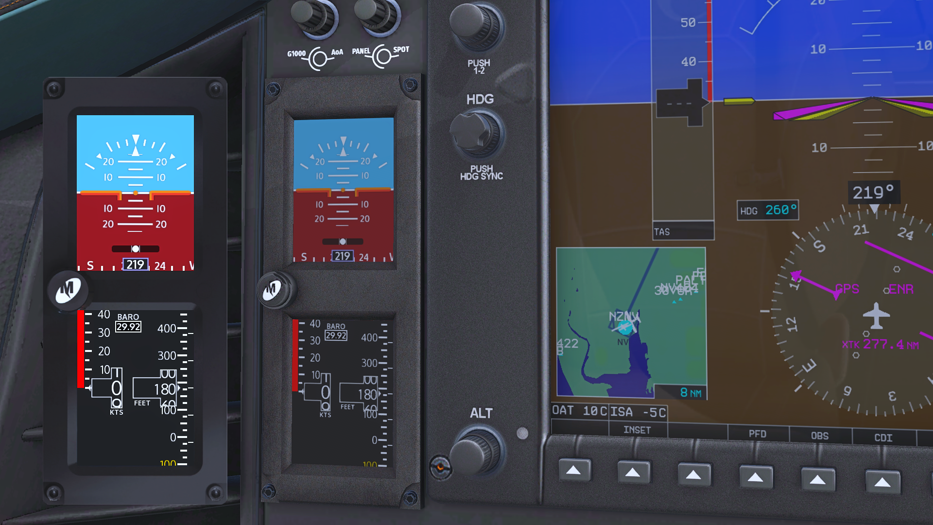 Threshold Review: Aerobask E1000 G1000 Edition