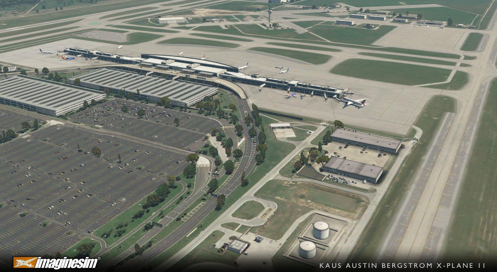 ImagineSim Release Austin (KAUS) for X-Plane 11 | Threshold