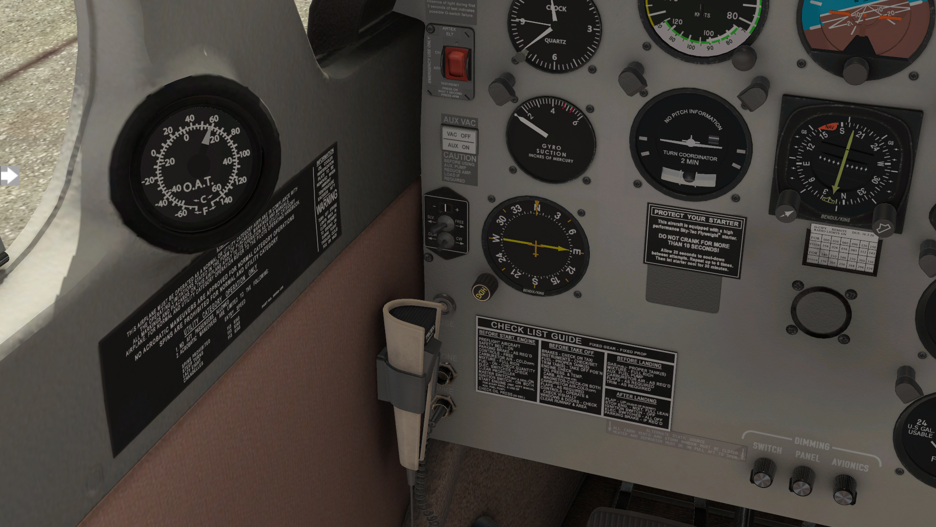 Threshold Review: Just Flight PA-28-181 Archer III