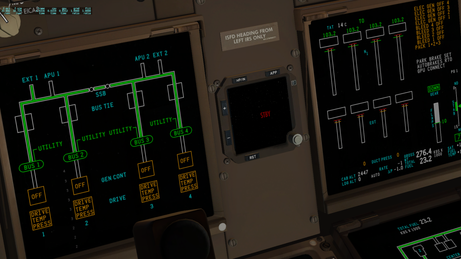 Edited] Cockpit Previews of SSG's 747-8 V2 | Threshold