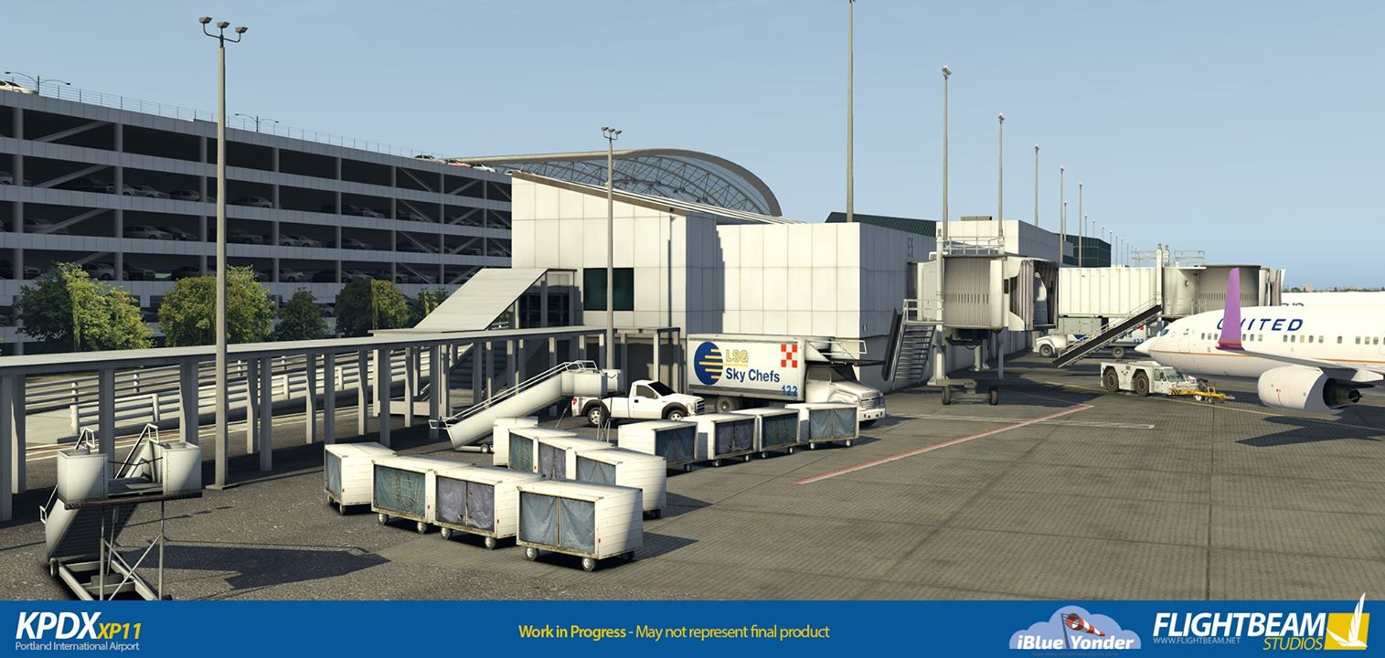 iBlueYonder/Flightbeam Portland International (KPDX)