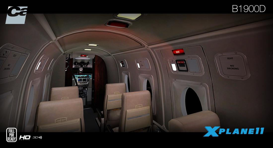 Carenado Update their B1900 HD Series to V1 2 | Threshold