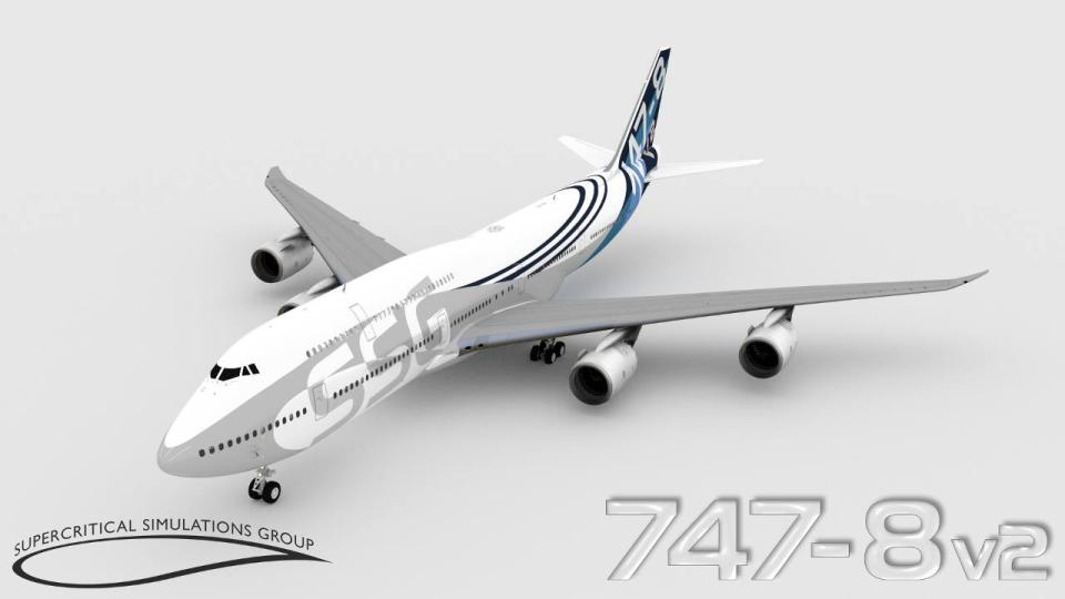 New SSG 747-8i V2 Engine Start/FMC Videos