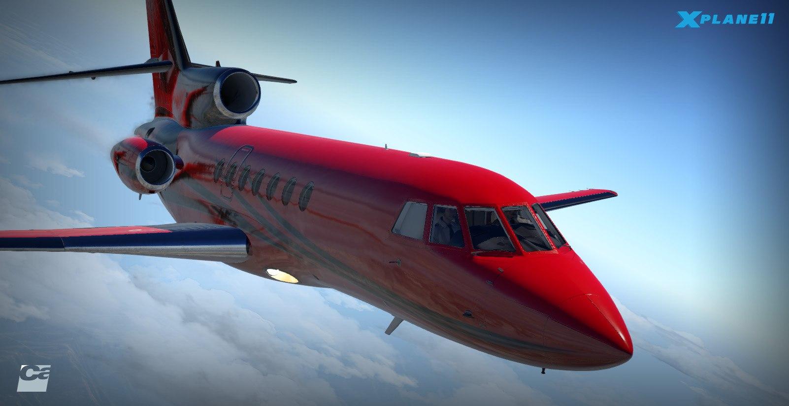 Carenado Announces Dassault Falcon 50 + Hints at ATR for X
