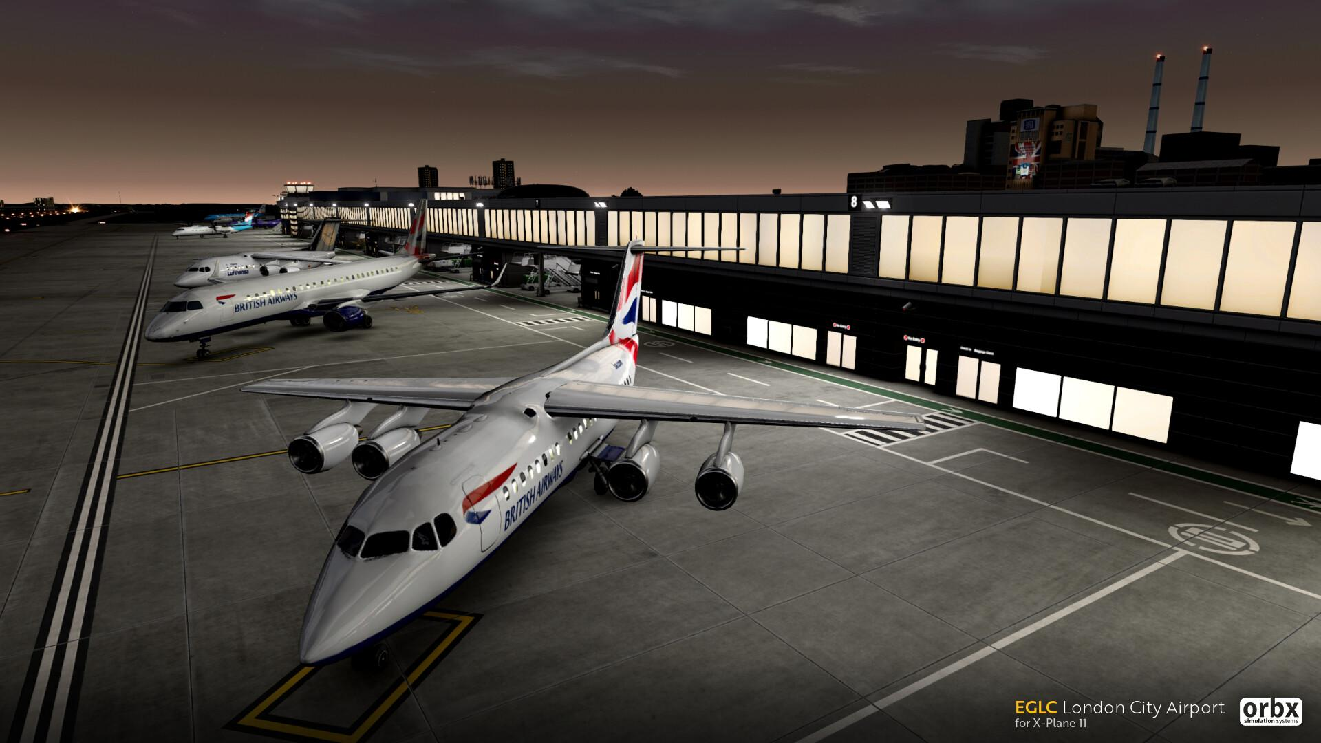 Orbx Releases London City Airport for X-Plane | Threshold