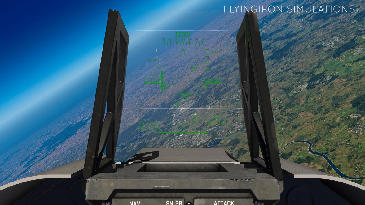 FlyingIron Simulations Previews F-117 Nighthawk In-sim