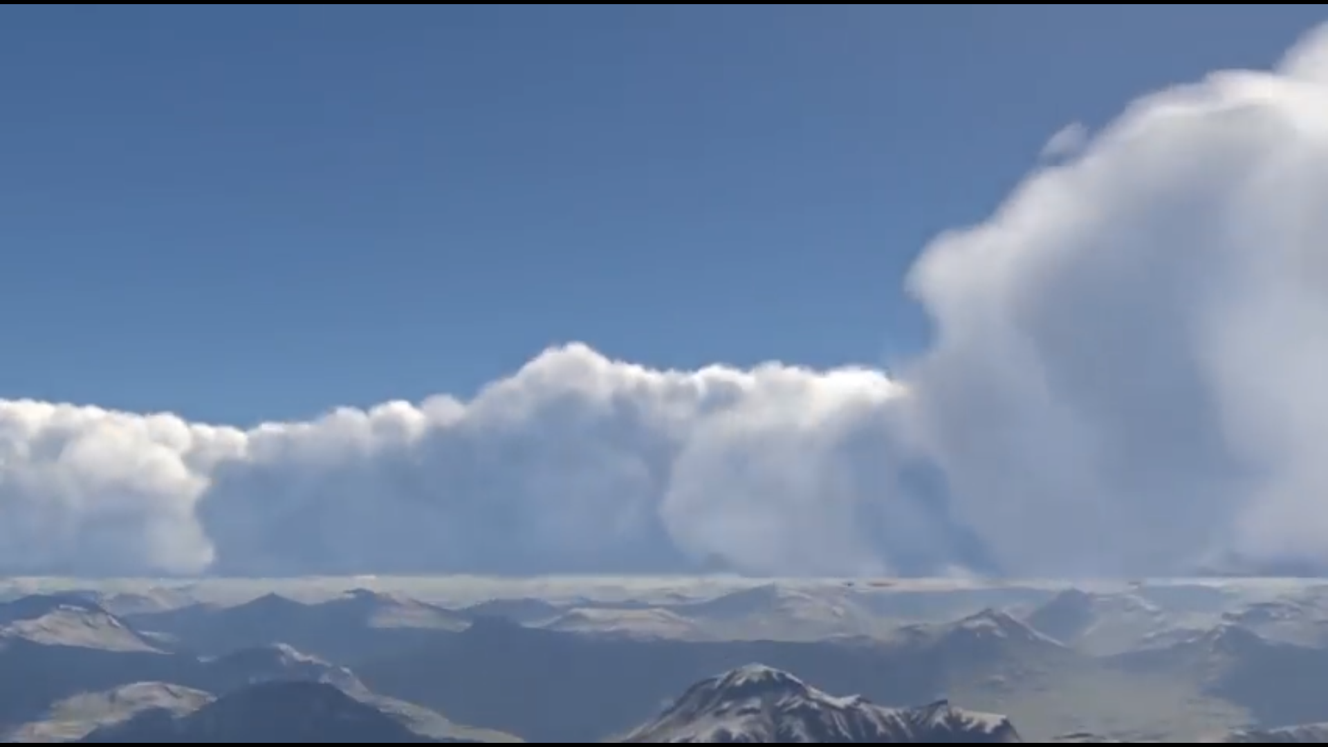 First Look at Ultra Weather XP V3 0's Volumetric Clouds | Threshold