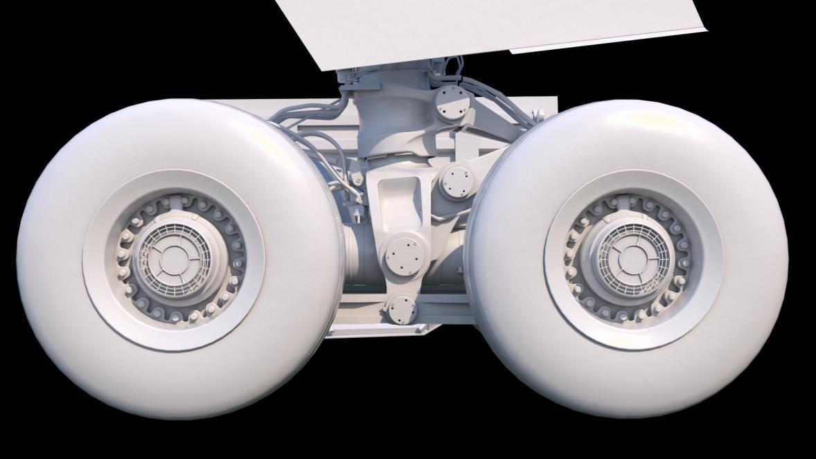 Flight Factor A350 V2 Landing Gear Renders