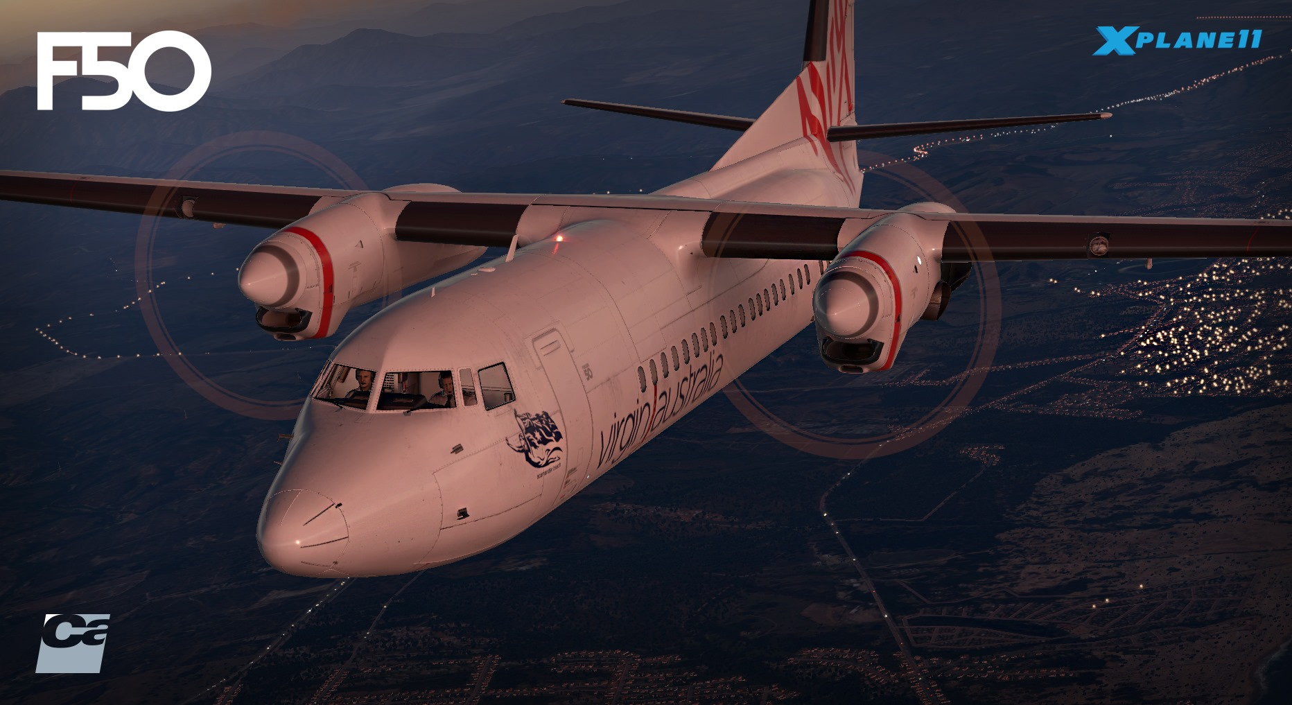 Carenado Announces F50 For X-Plane | Threshold