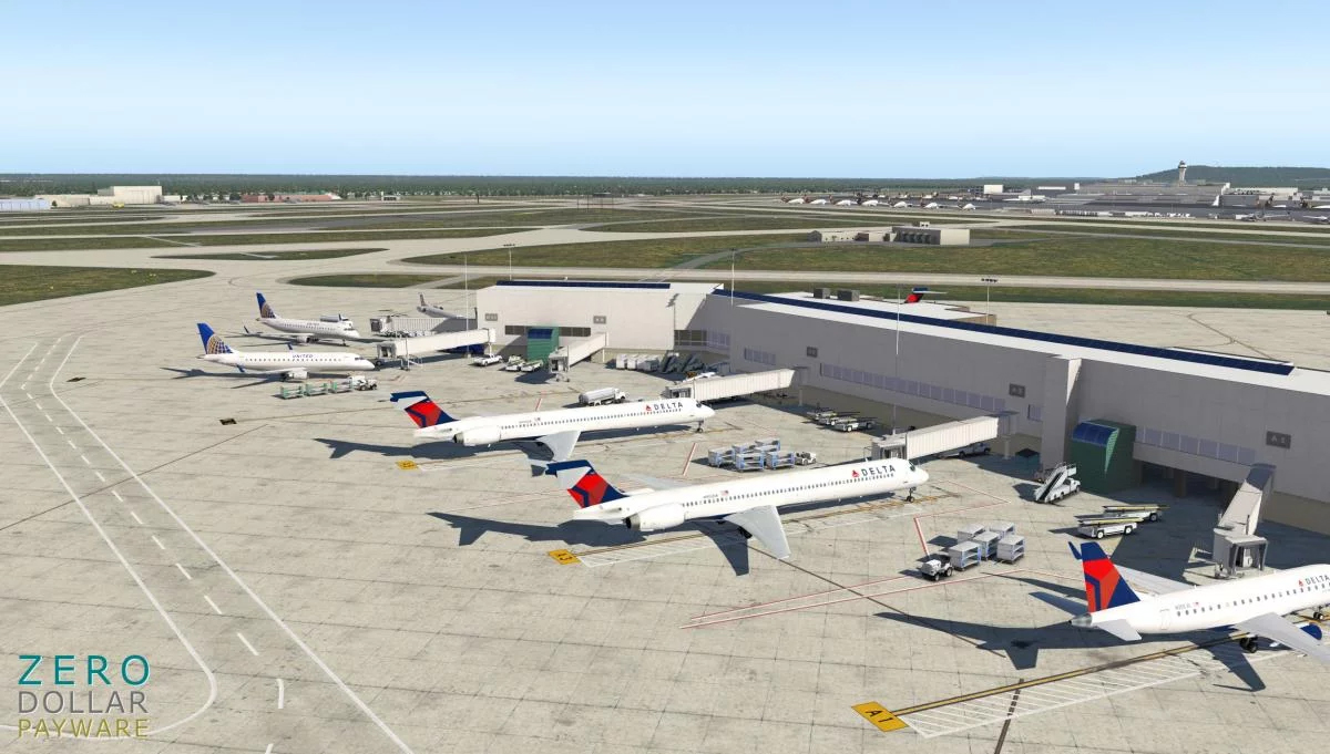Zero Dollar Payware Releases Louisville Airport (KSDF