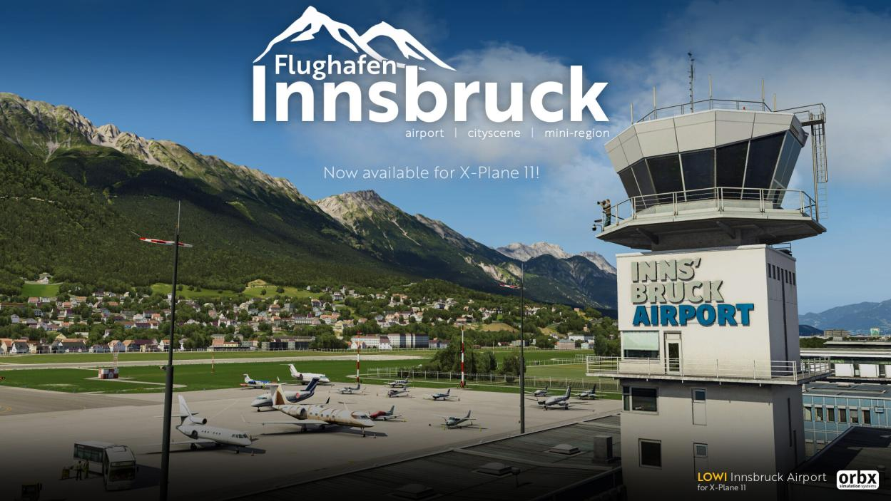 Orbx Innsbruck (LOWI) Now Available