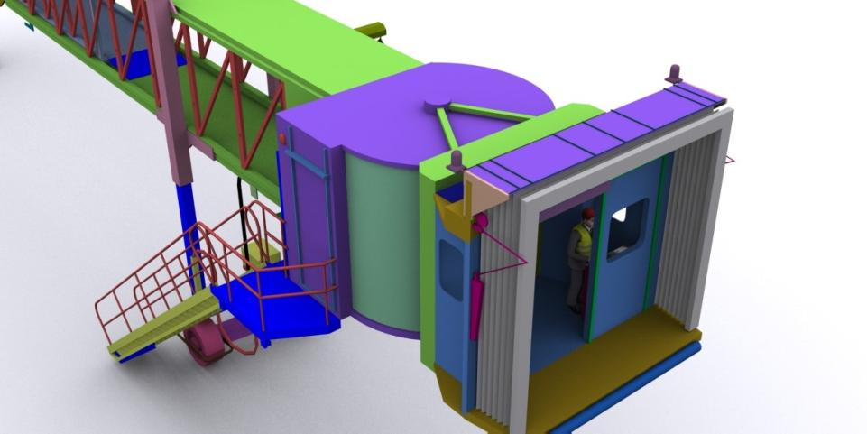Drzewiecki Design Showcases New Jetway Model for Future Products