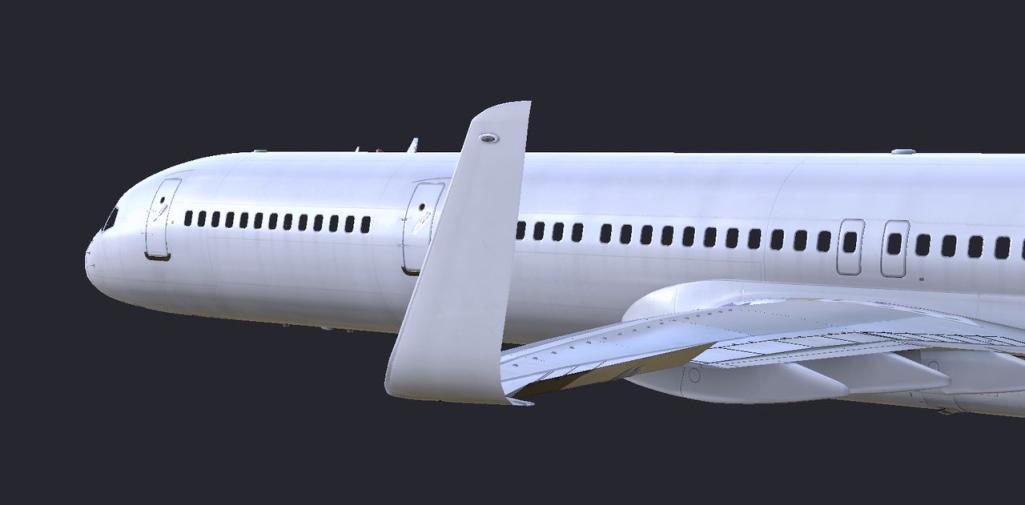 Flight Factor Improving Exterior of Boeing 757