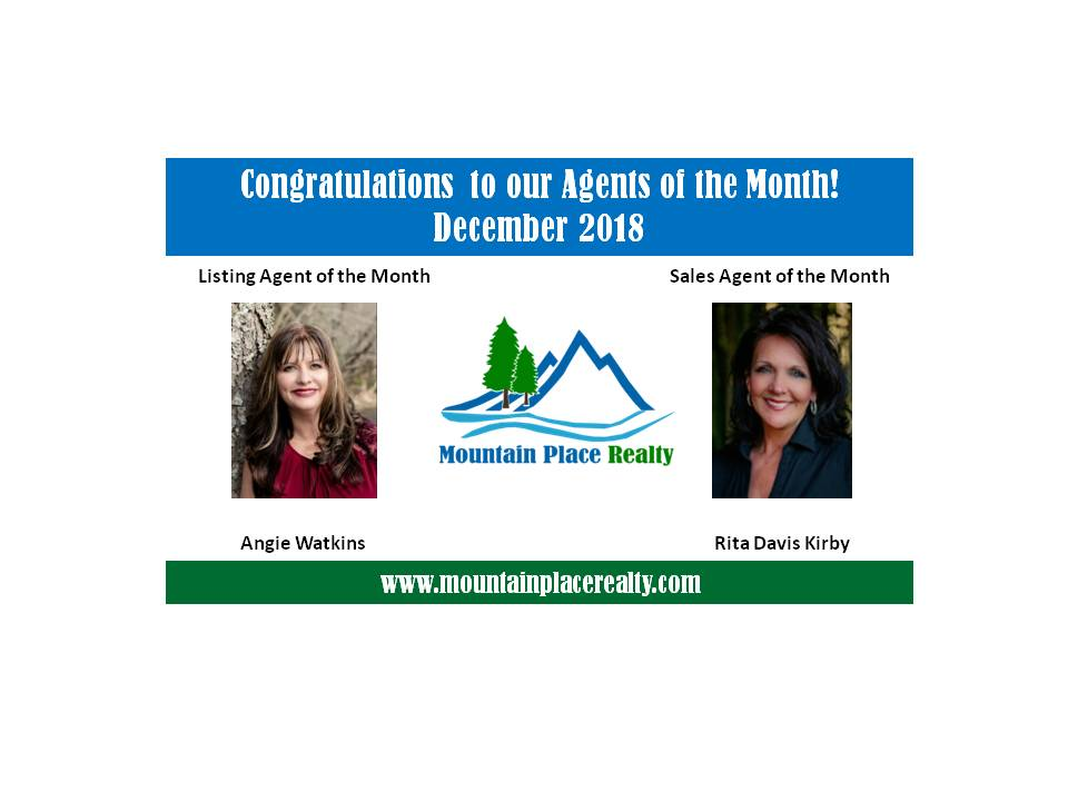 Agents of the Month--December 2018