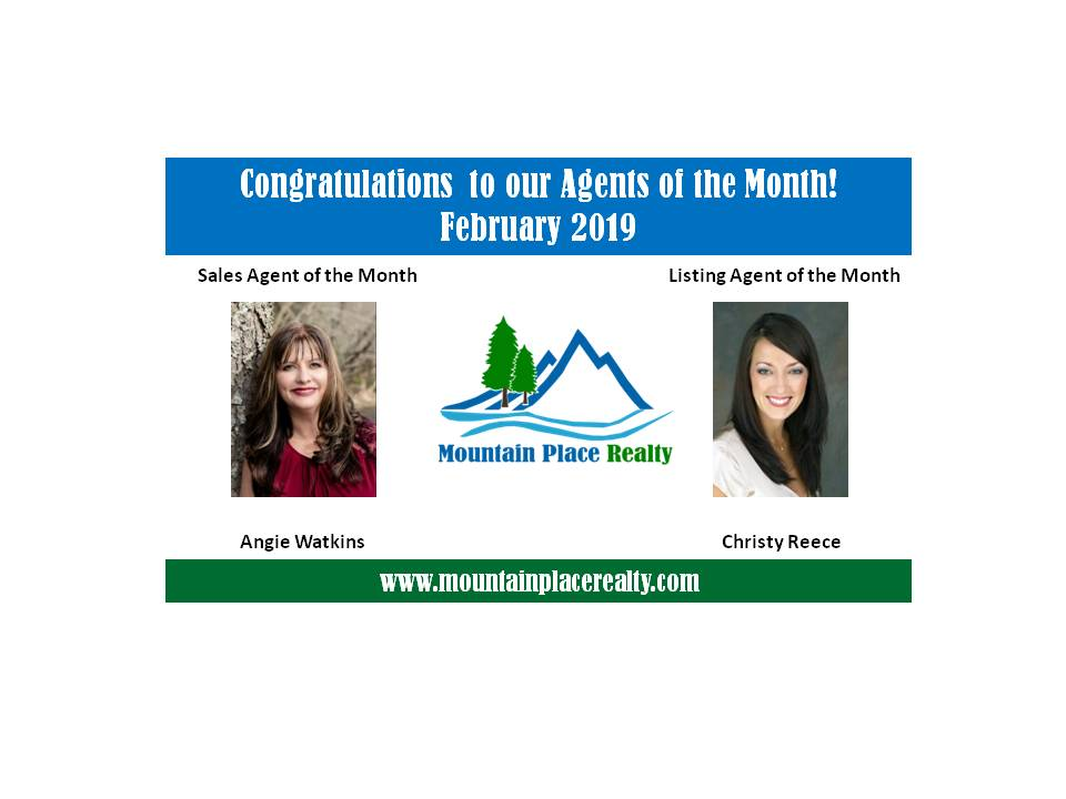 Agents of the Month--February 2019