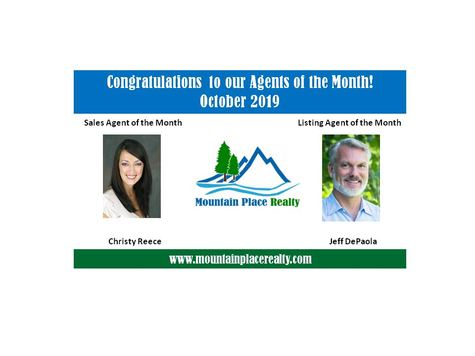 Agents of the Month--October 2019