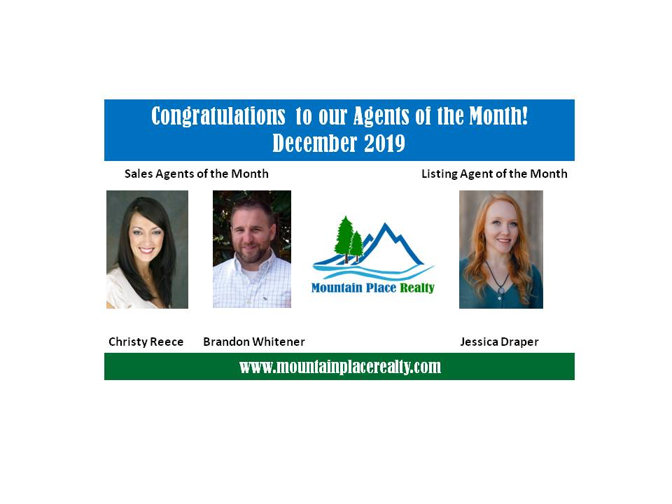 Agents of the Month--December 2019