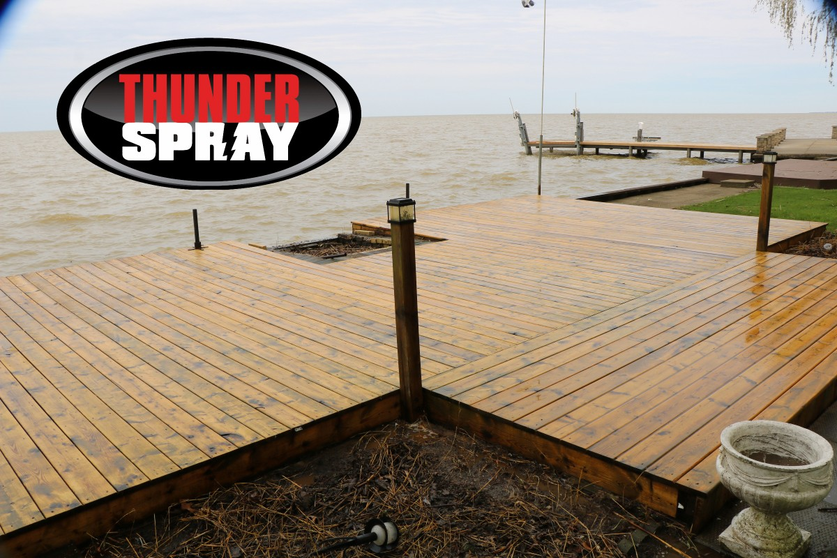 deck cleaned to perfection in windsor on
