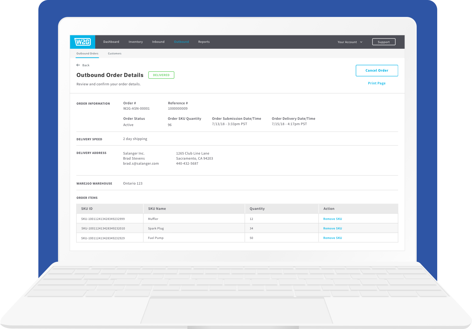 Inventory Management System Portal