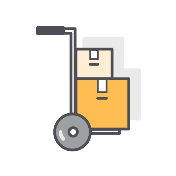 On-Demand Warehousing & Fulfillment Icon