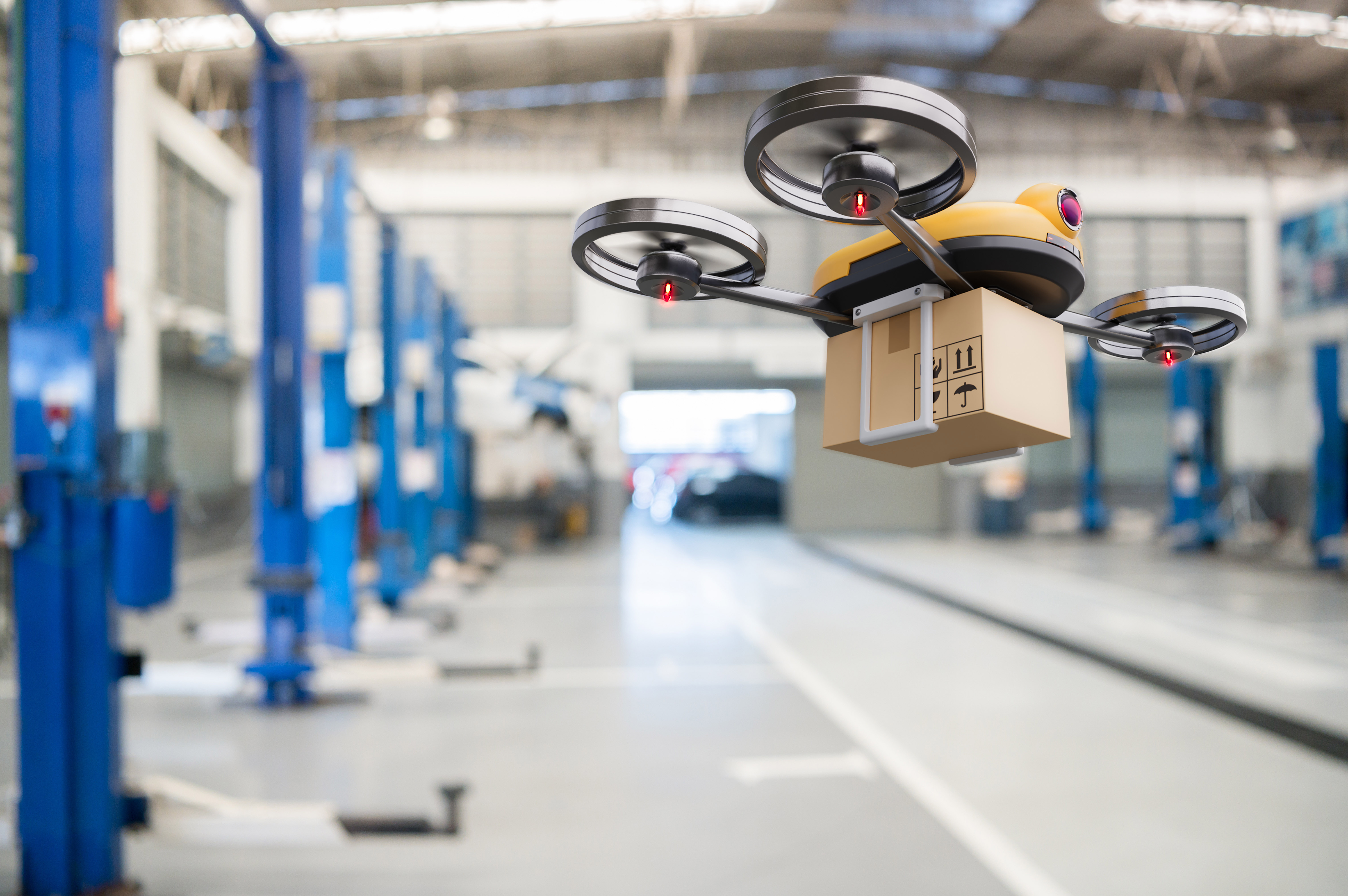 UPS's drone delivery program