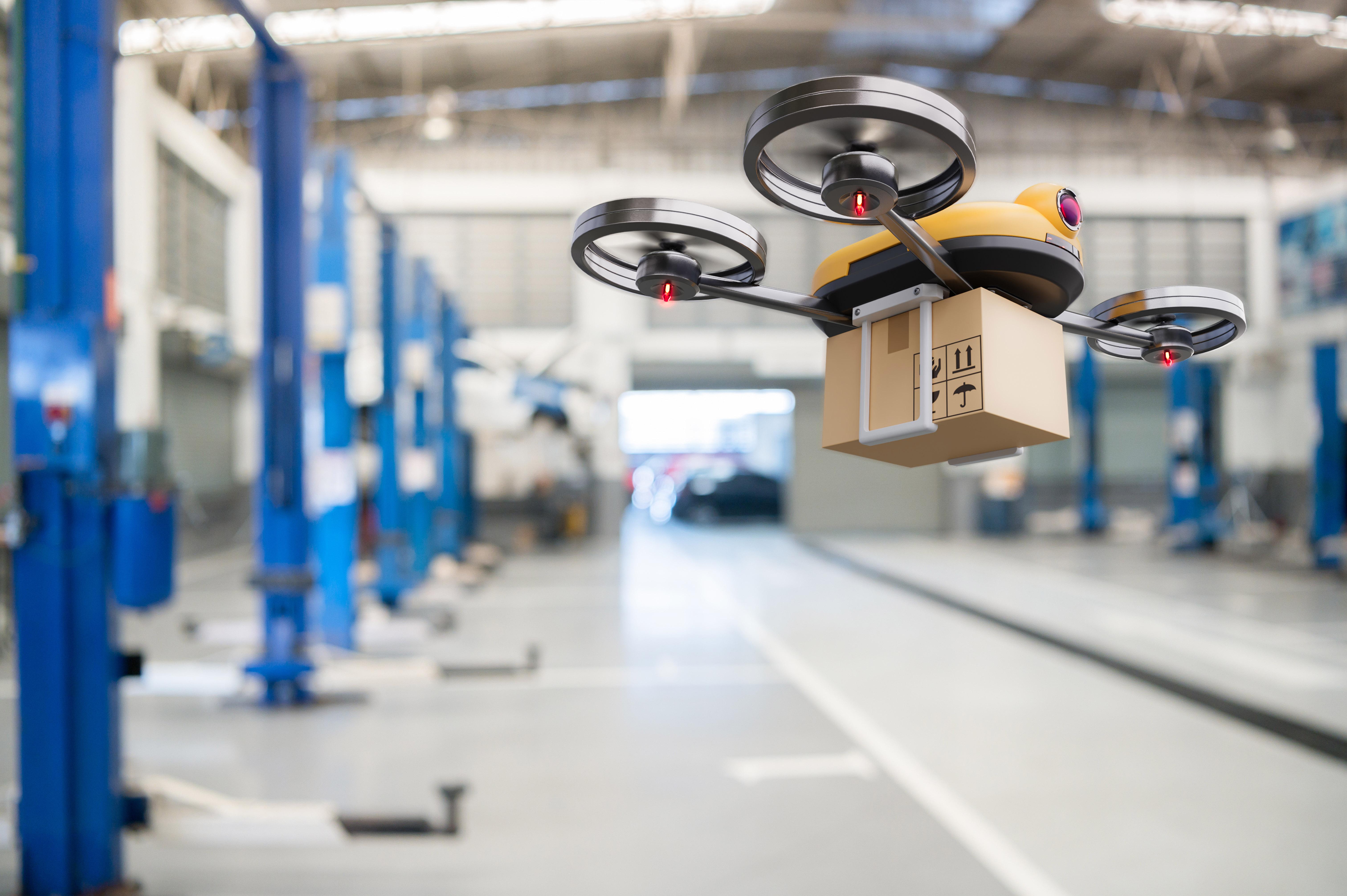 UPS drone delivery program
