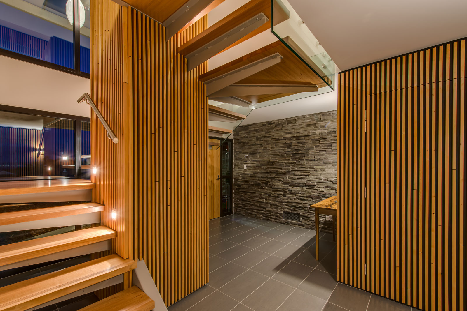 Blackmans Bay timber stair design
