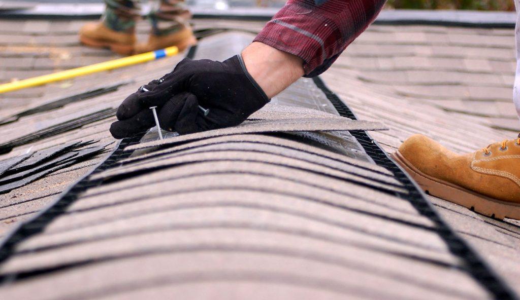 Dallas shingle roof repair