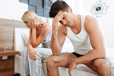 Inability to maintain an erection can affect your self confidence and sexuality.