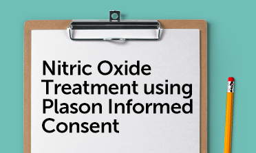 Nitric oxide consent form mockup